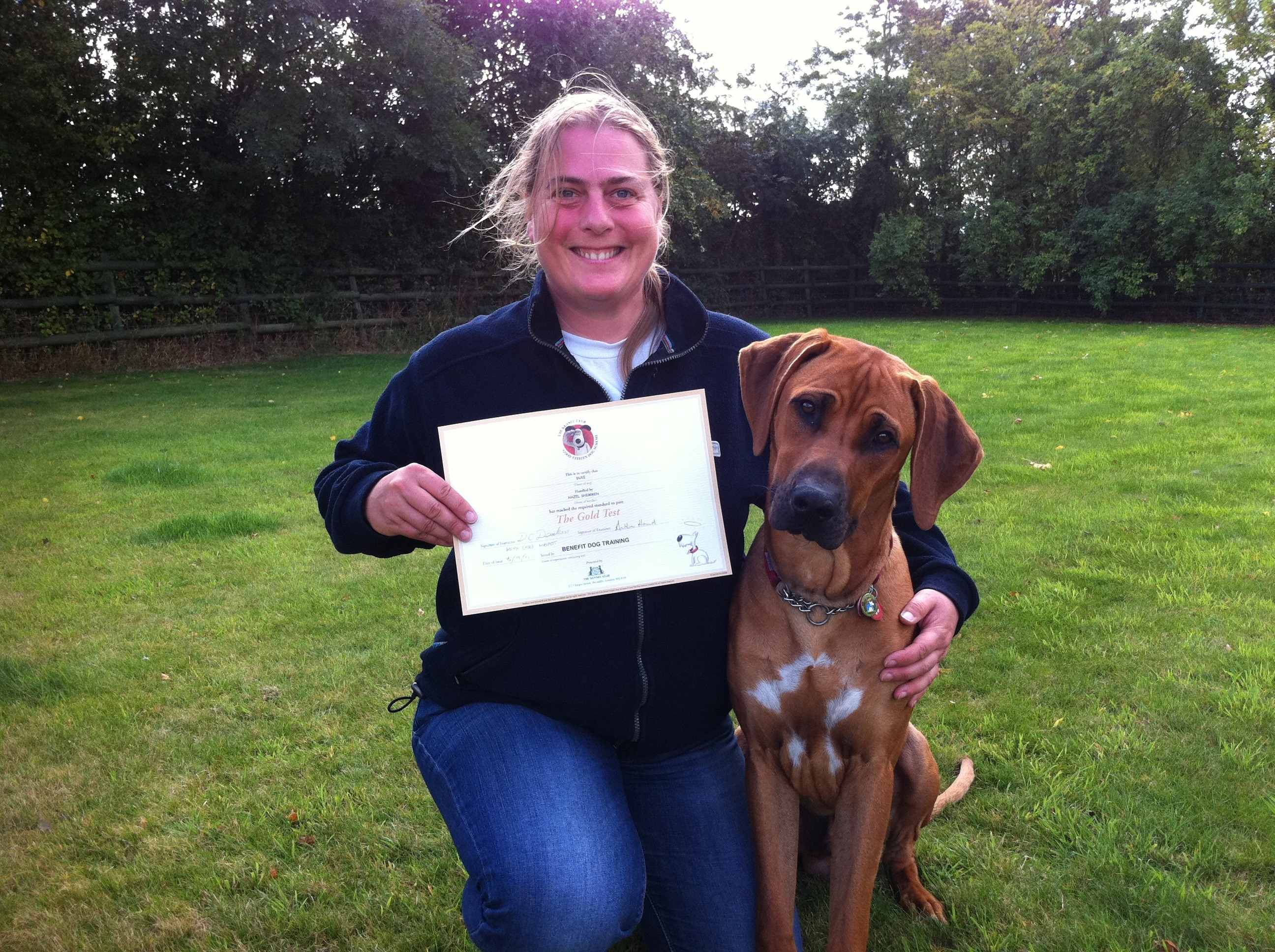 Certificate In Dog Training And Behaviour
